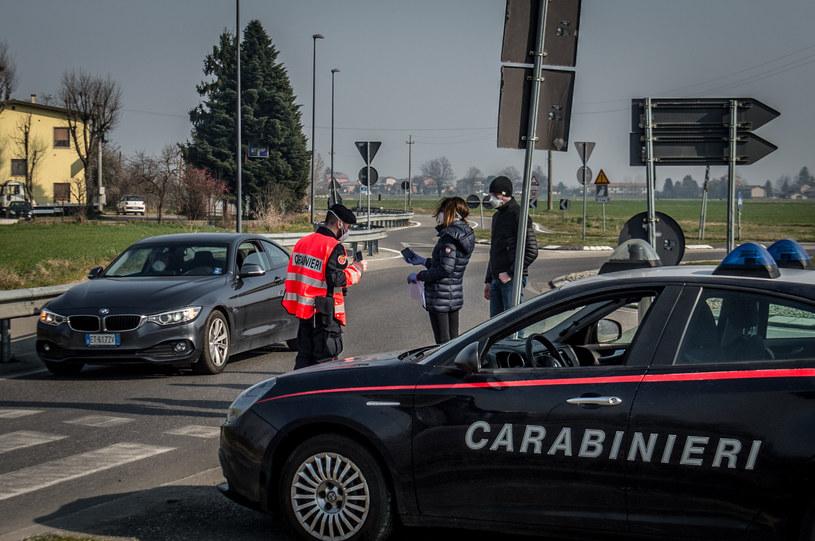 Włoscy karabineirzy, zdjęcie ilustracyjne /Cozzoli/Fotogramma/Ropi /Agencja FORUM