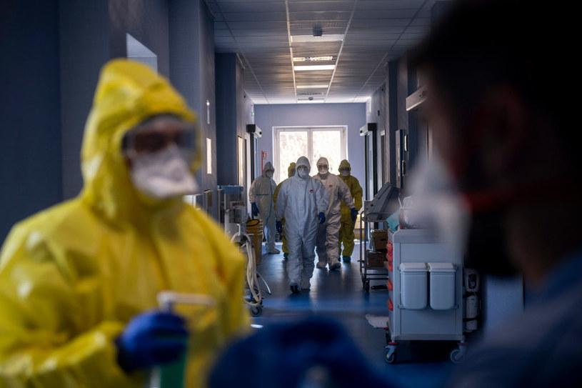 Włoscy medycy w czasie pandemii, zdjęcie ilustracyjne /Antonio Masiello /Getty Images