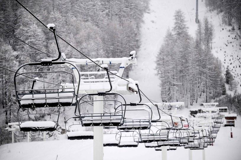 Włosi będą magazynować śnieg /JEFF PACHOUD /AFP