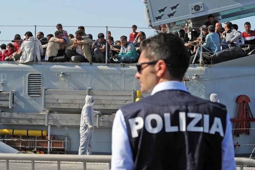 Włosi mają trudności z odsyłaniem do krajów pochodzenia imigrantów, którzy nie mają szans na azyl /AFP