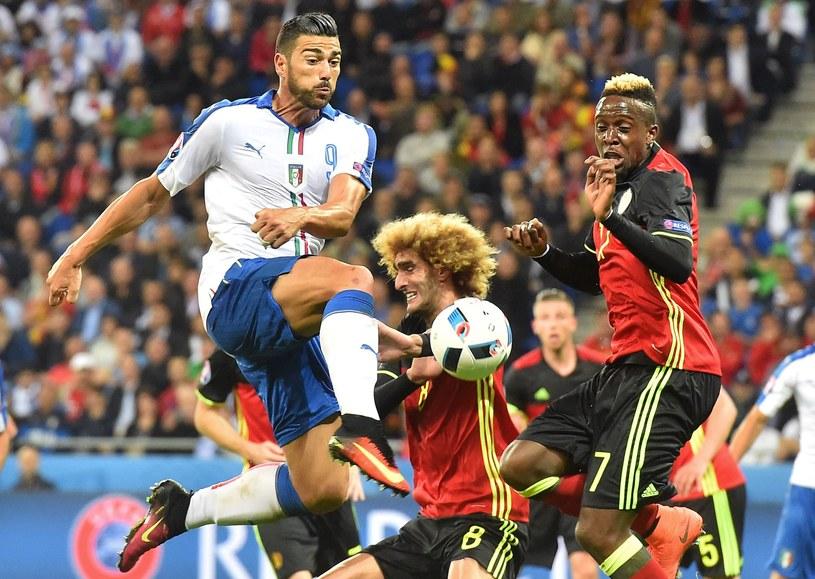 Włosi odprawili Belgów z kwitkiem /AFP
