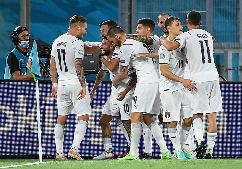 Włosi w imponującym stylu rozpoczęli Euro 2020 /PAP/EPA