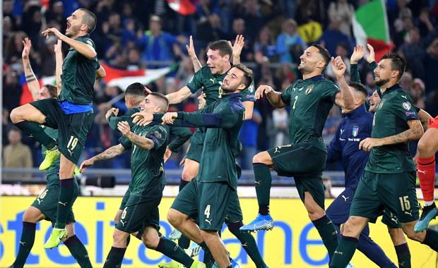 Włosi zagrają na Euro 2020. Dziś o awans zawalczą Polacy