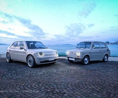 Włosi zaprojektowali nowego Malucha! Oto Fiat 126 VISION!