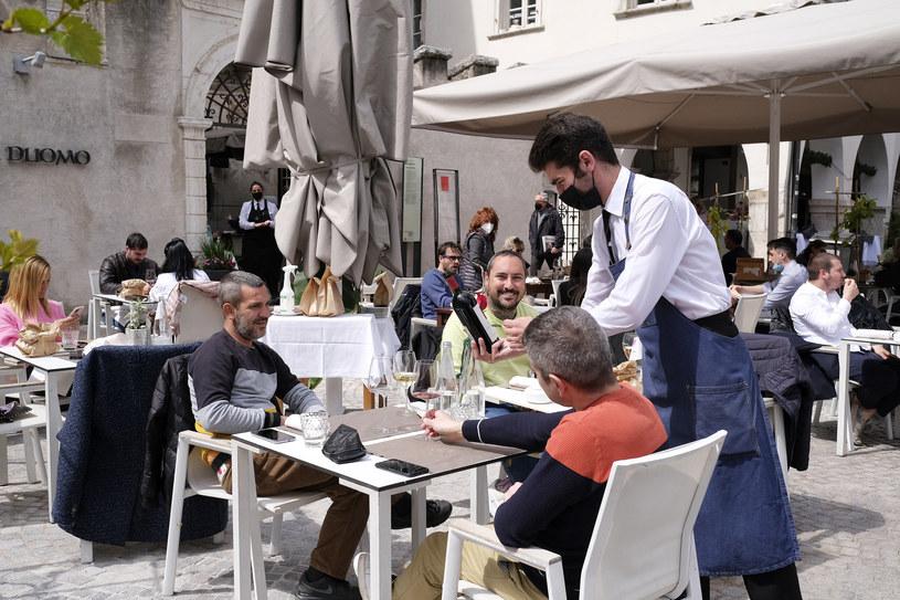Włosi znów cieszą się życiem /AFP