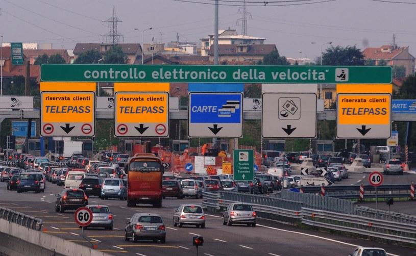 Włoska autostrada /Agencja FORUM