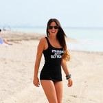 Włoska Natalia Siwiec pozuje z gołym tyłkiem