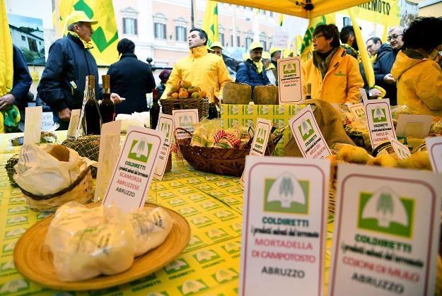Włoska organizacja Coldiretti broni swojego rynku /AFP