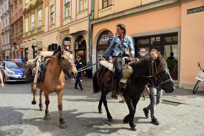 Włoska podróżniczka Paola Giacomini /Marek Lasyk  /Reporter
