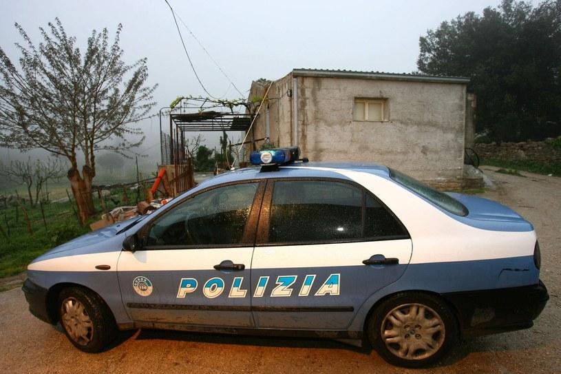 włoska policja /Fabrizio Villa /East News