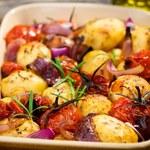 Włoska zapiekanka z pomidorkami