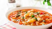 Włoska zupa z kapustą i fasolą