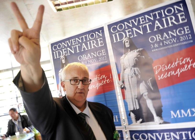 Włoski eurodeputowany Mario Borghezio /AFP