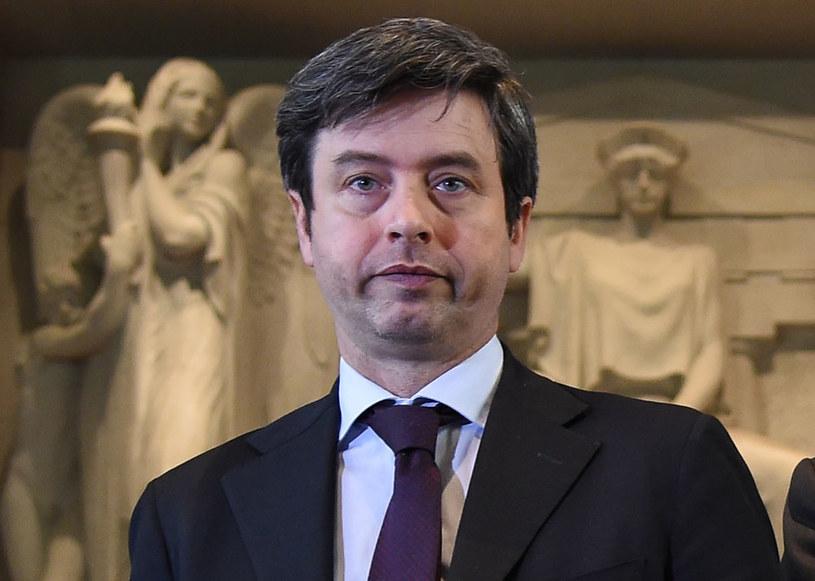 Włoski minister sprawiedliwości Andrea Orlando /AFP