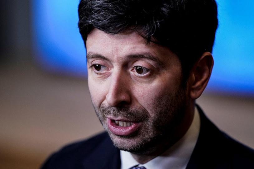 Włoski minister zdrowia Roberto Speranza /KENZO TRIBOUILLARD /AFP