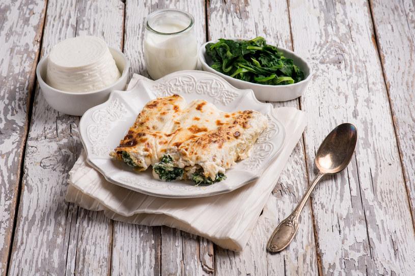 Włoski obiad? Nic prostszego- cannelloni zasmakują każdemu /123RF/PICSEL