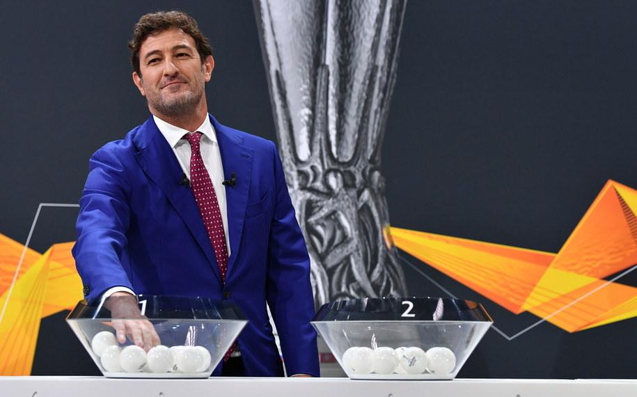 Włoski trener Ciro Ferrara /Harold Cunningham / UEFA HANDOUT /PAP/EPA