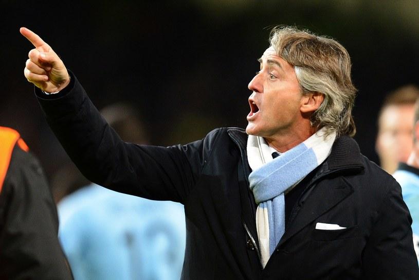Włoski trener Roberto Mancini /AFP