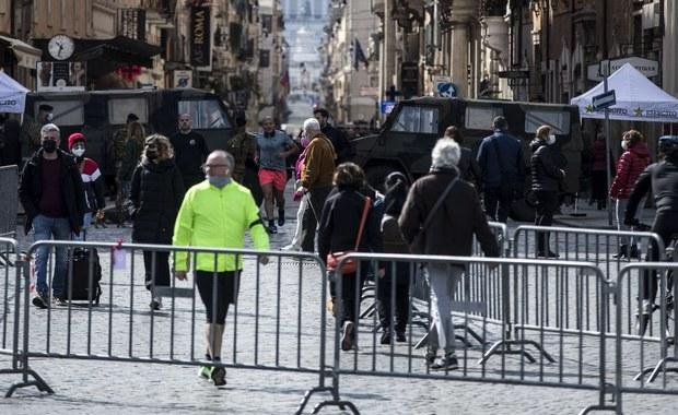 Włoski wiceminister: Za wcześnie na to, by znieść godzinę policyjną