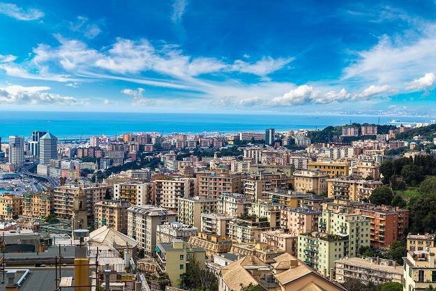 Włoskie klimaty cieszyły się największą popularnością wśród Francuzów i Holendrów. Nz. Genua /©123RF/PICSEL