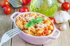 Włoskie kopytka w pomidorach