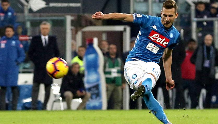 Włoskie media: Magiczna bramka Arkadiusza Milika, Carlo Ancelotti miał rację