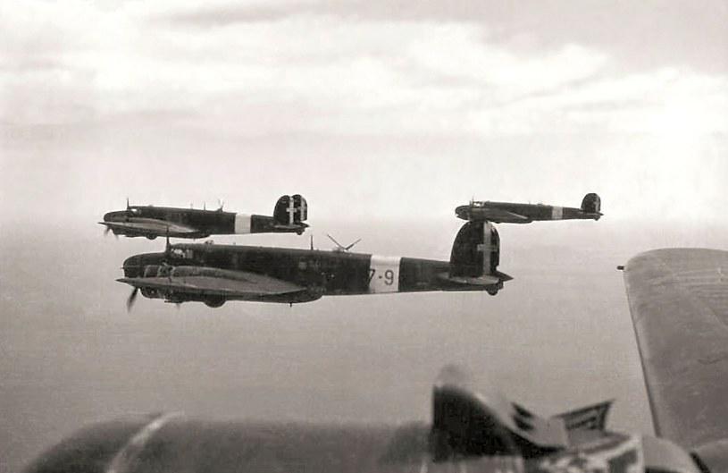 Włoskie samoloty walczyły nad Anglią w lecie 1940 roku z niewielkimi sukcesami /Wikimedia Commons /INTERIA.PL/materiały prasowe