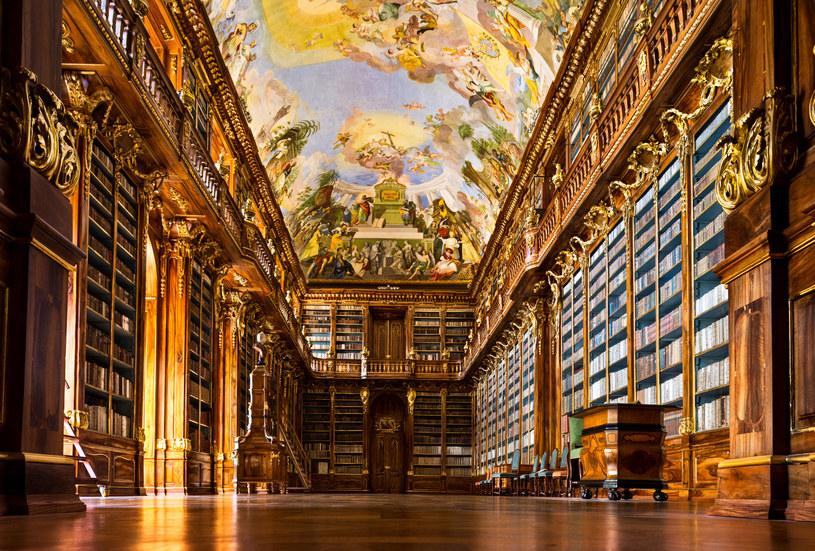 Wnętrza Biblioteki na Strahowie zapierają dech /123RF/PICSEL