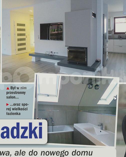 Wnętrza domu, który najmowała Edyta Górniak /Życie na gorąco