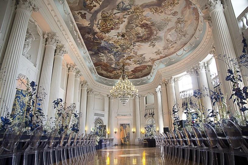 Wnętrza w Zamku w Rydzynie /Wedding