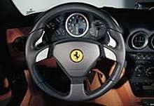 Wnetrze Ferrari 575M Maranello /INTERIA.PL