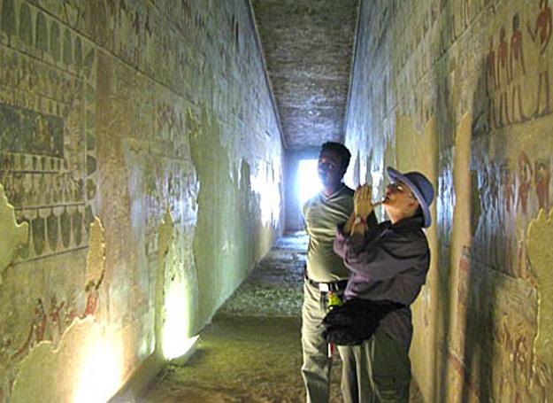 Wnętrze grobowca wezyra Rechmire /MWMedia