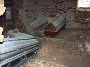 Wnętrze grobowca //
