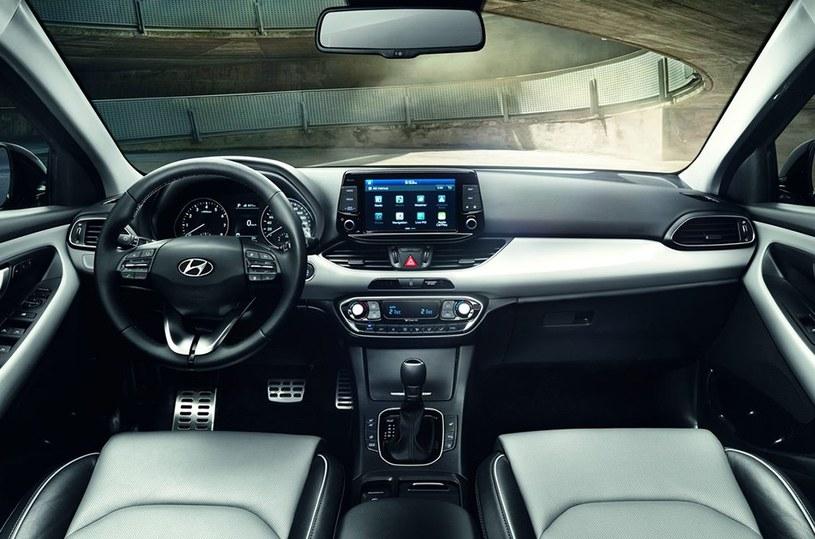 Wnętrze Hyundaia i30 /materiały prasowe