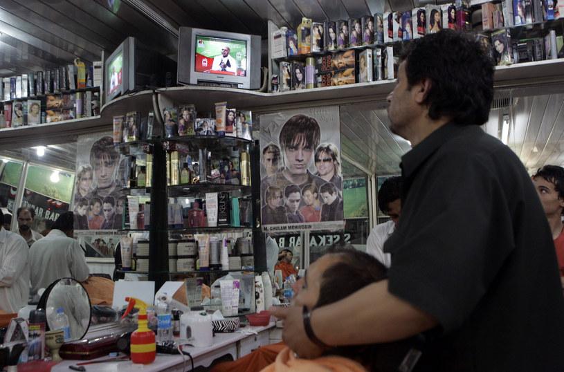 Wnętrze jednego z salonów fryzjerskich w Afganistanie /today.com /materiały prasowe