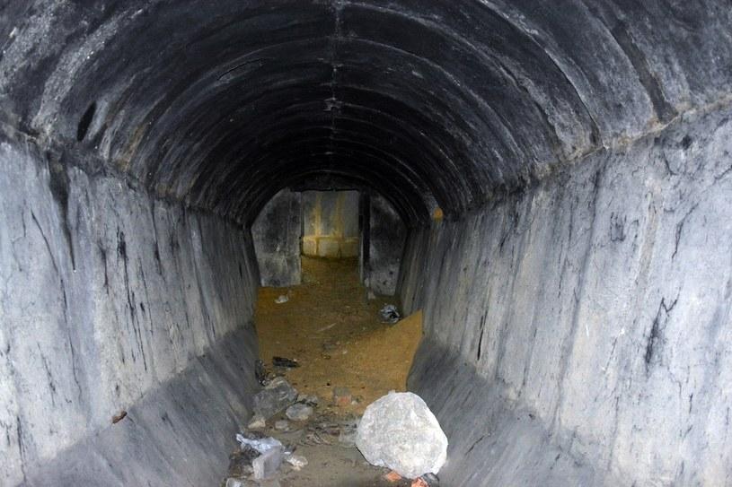 Wnętrze jednego ze schronów na Wądołach /Odkrywca