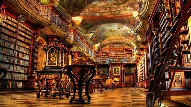Wnętrze jednej z sal biblioteki na University of Cambridge / inf.prasowa /&nbsp