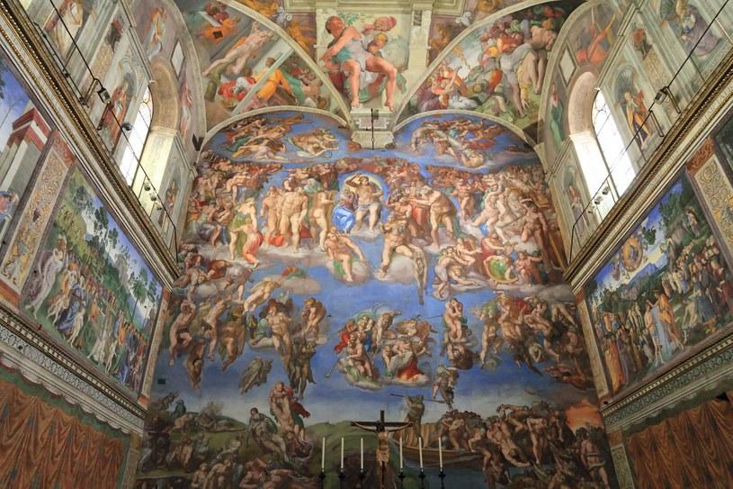 Wnętrze Kaplicy Sykstyńskiej /123RF/PICSEL