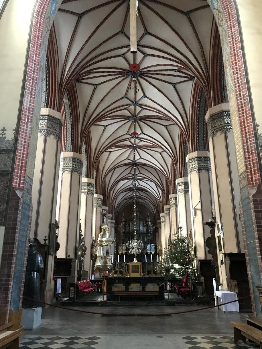 Wnętrze katedry /Piotr Bułakowski /RMF FM