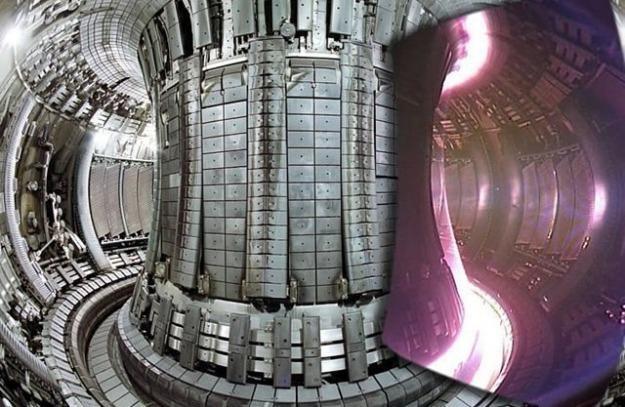 Wnętrze komory JET z Wielkiej Brytanii. Fot. EFDA, JET /materiały prasowe