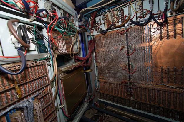 Wnętrze komputera Odra 1305 /Bogusz Polczyński /East News