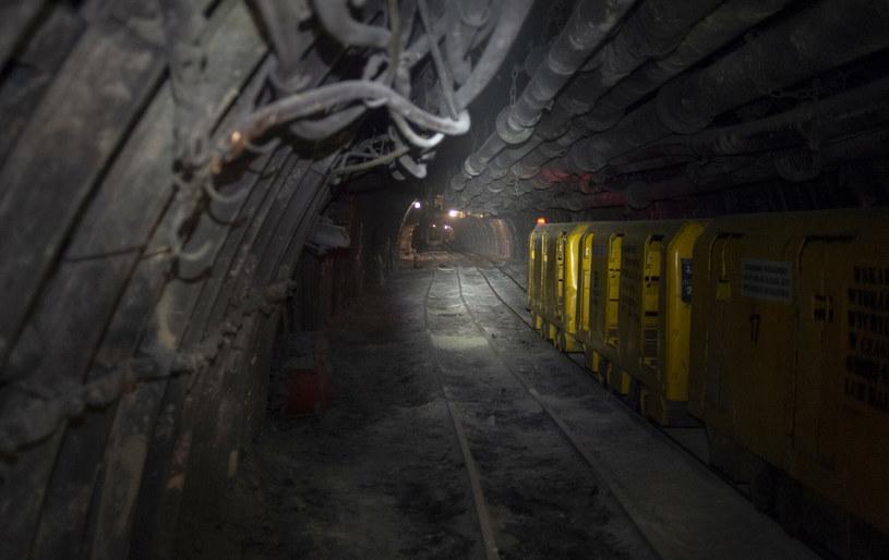 Wnętrze kopalni Borynia /Lukasz Kalinowski/East News /East News