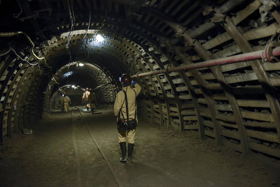 Wnętrze kopalni Guido /PAP/Abaca