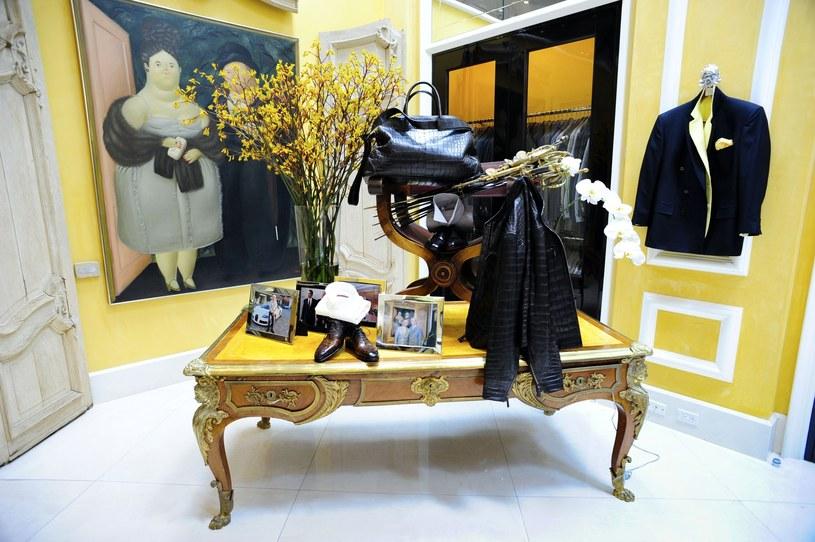Wnętrze luksusowego sklepu Bijan /Jackson/face to face  /East News