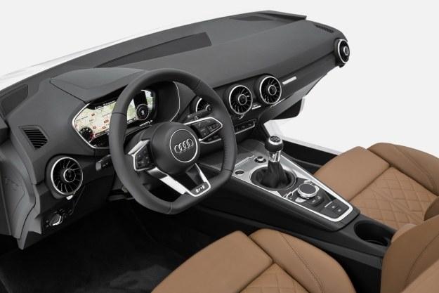 Wnętrze nowego Audi TT /materiały prasowe