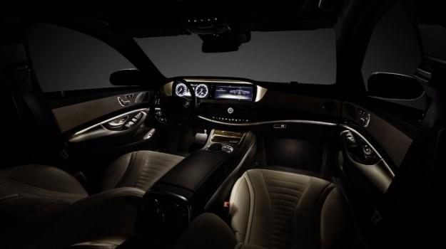 Wnętrze nowego Mercedesa klasy S (W222) /Mercedes