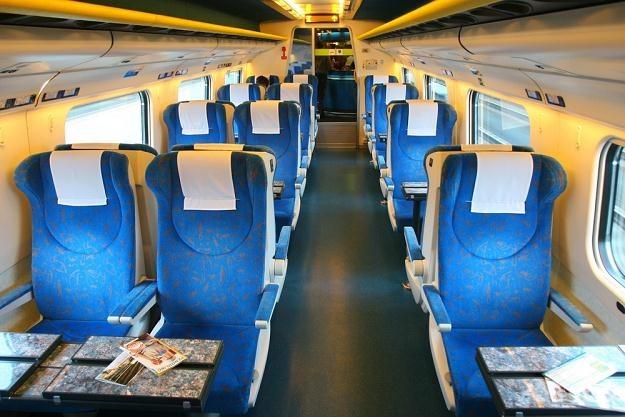 Wnętrze pociągu Pendolino,  fot. Wojciech Traczyk /Agencja SE/East News
