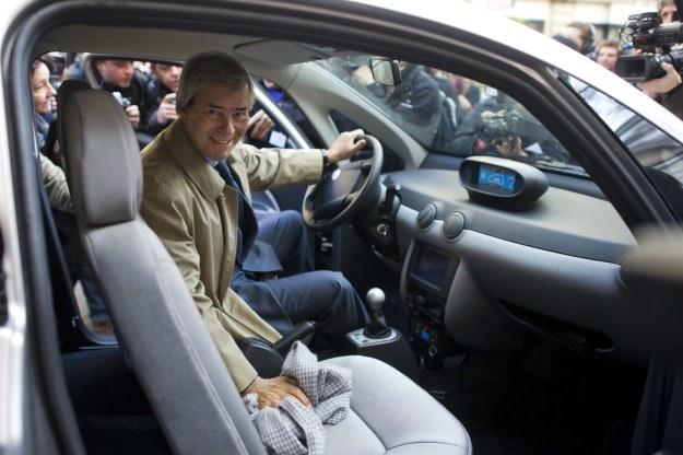 Wnętrze pojazdu /AFP
