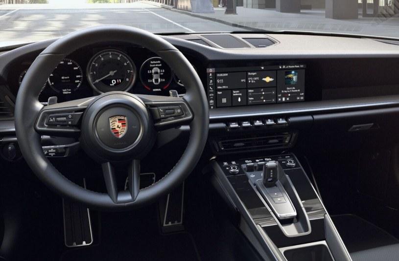 Wnętrze Porsche 911 /materiały prasowe