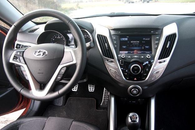 Wnętrze przywodzi na myśl inne modele Hyundaia /INTERIA.PL